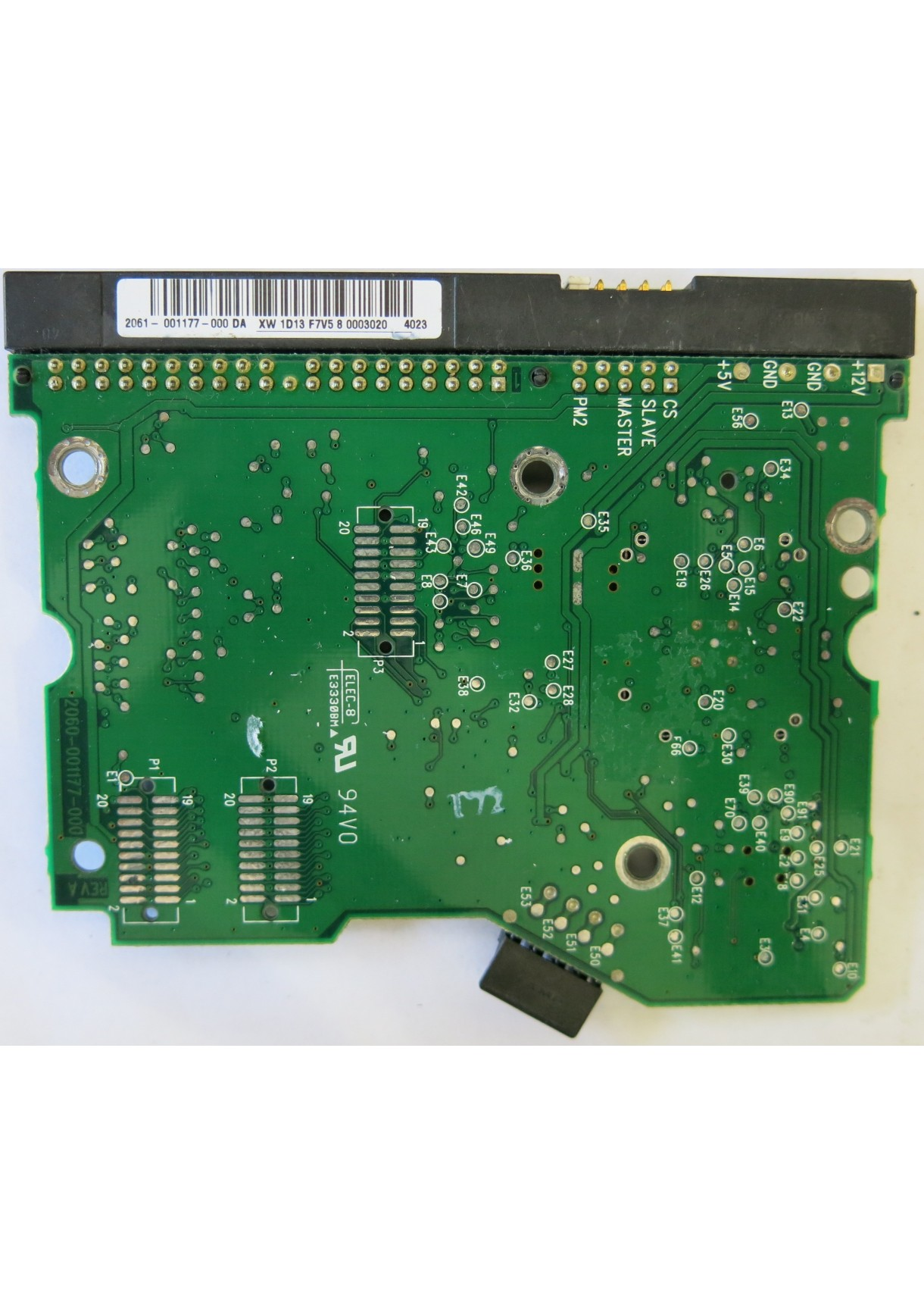 WD400BB-60DGA0 2060-001177-000 REV A PCB