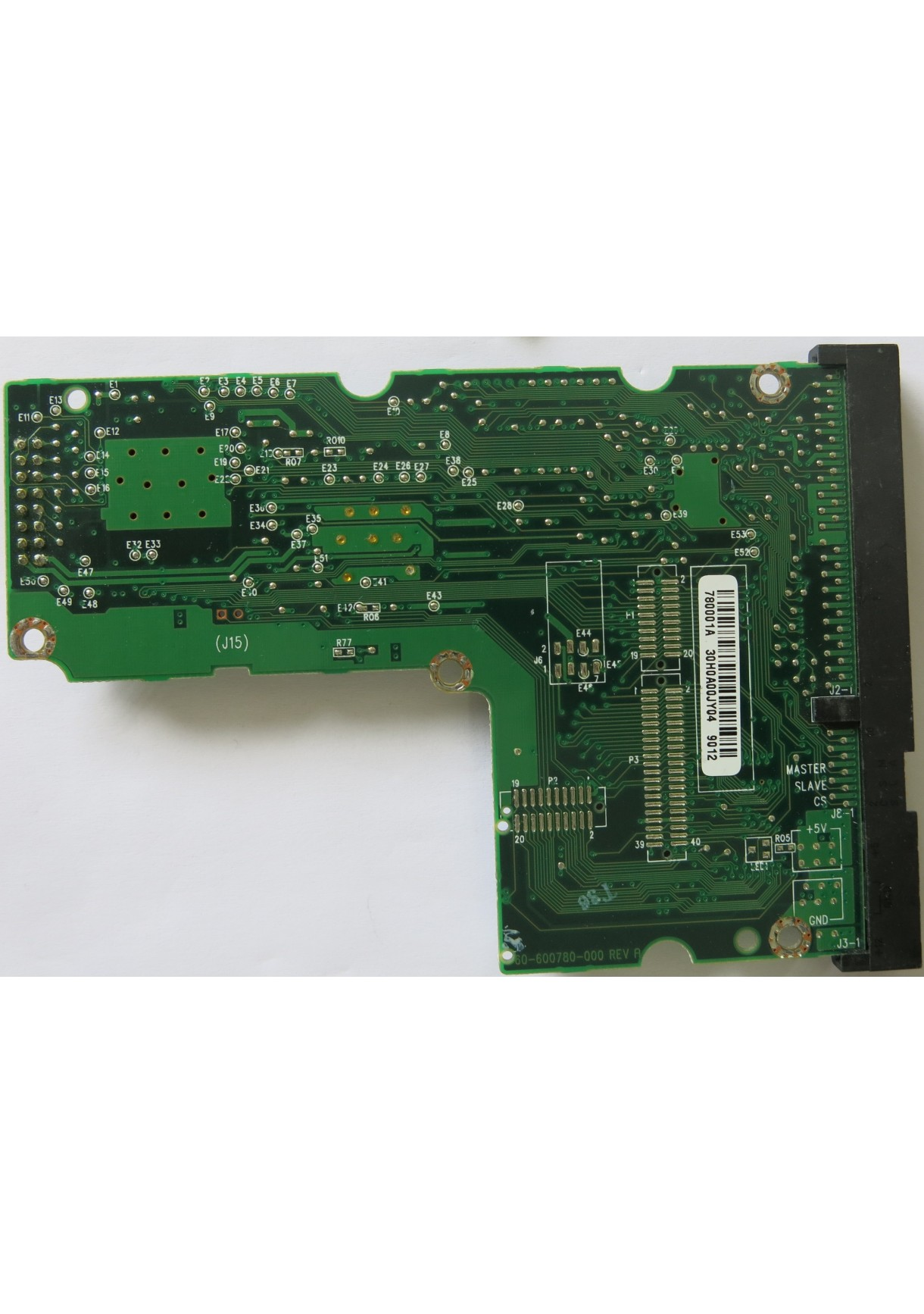 WESTERN DIGITAL 60-600788-000 REV A PCB