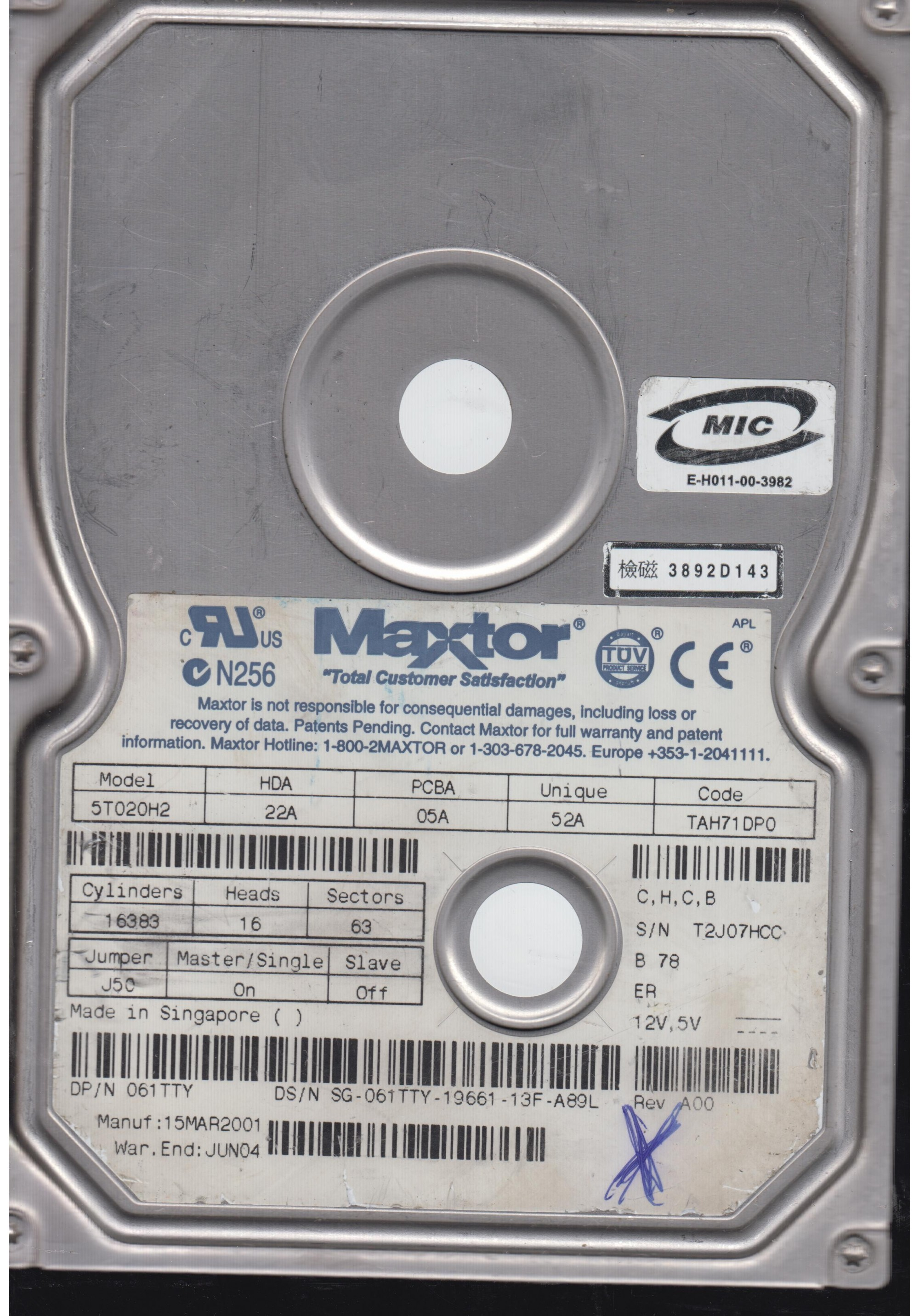 MAXTOR 5T020H2 WINDOWS 7 DRIVERS DOWNLOAD